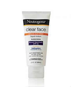 Clear Face Sunscreen