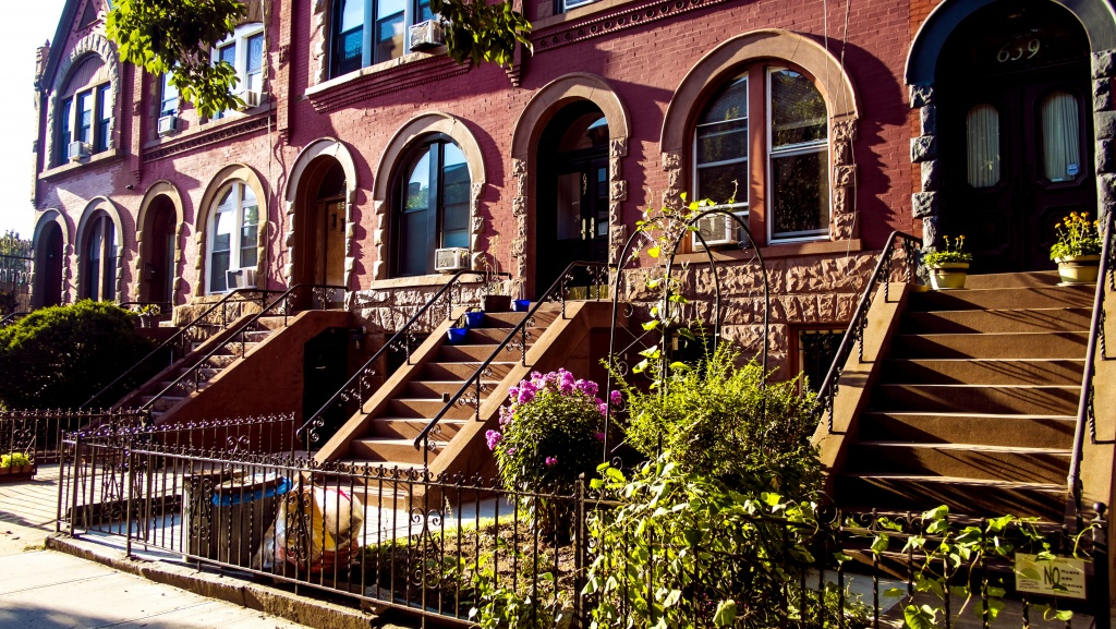 Crown Heights' picturesque brownstones, like these on Park Place between Franklin and Bedford Avenues, undoubtedly contribute to the major real estate boom the neighborhood has experienced over the past few years.