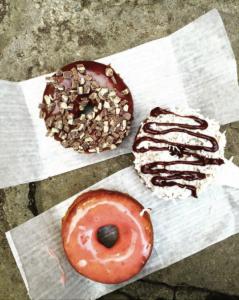 Doughnuts from Kosiner Brother's Dohnut Shop via @jeniferperillo Insagram.